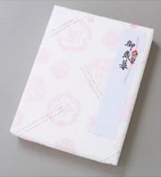 包装紙ピンク