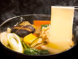 上州郷土料理 おっきりこみ写真