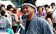 うどん天下一けっち船2015 五代目橋田高明インタビュー